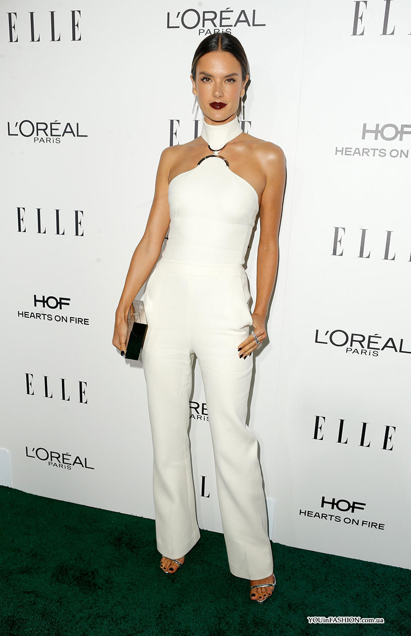 Алессандра Амбросио на Elle Women In Hollywood Awards 2016