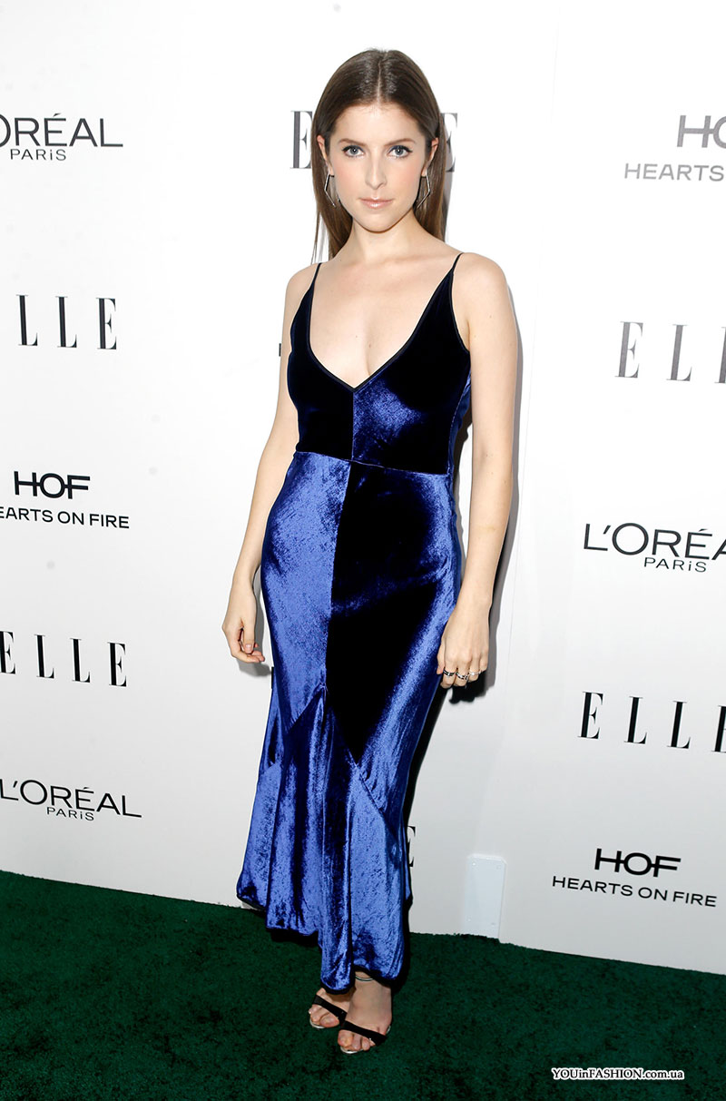 Анна Кендрик на Elle Women In Hollywood Awards 2016