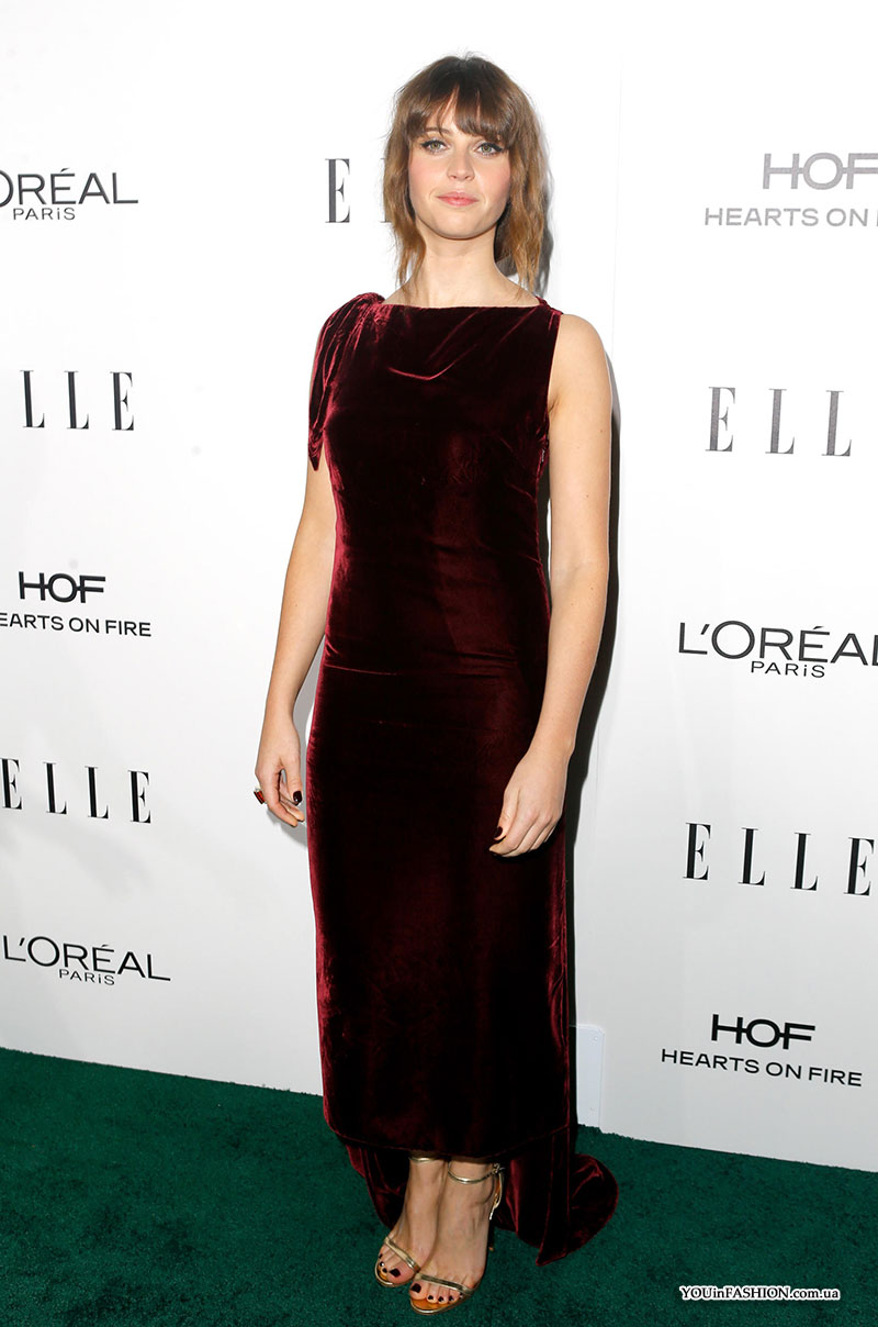 Фелисити Джонс на Elle Women In Hollywood Awards 2016