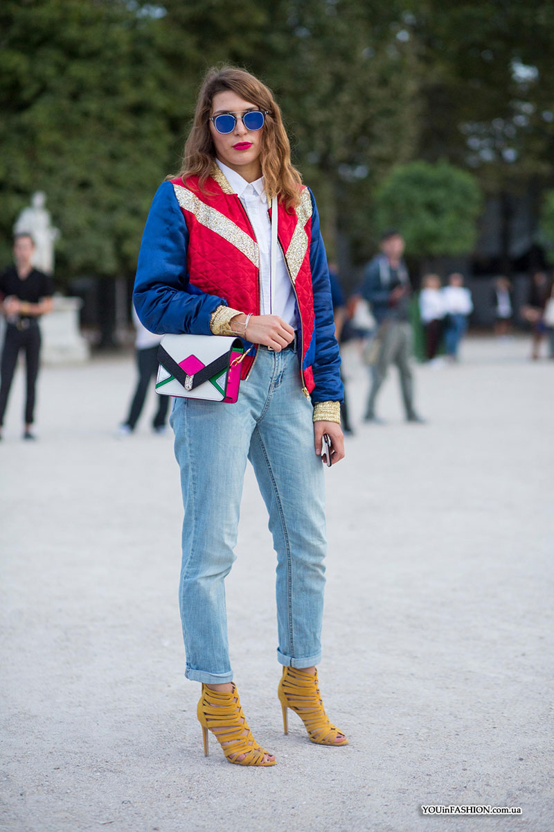 Paris Fashion Week Spring-Summer 2017 street style