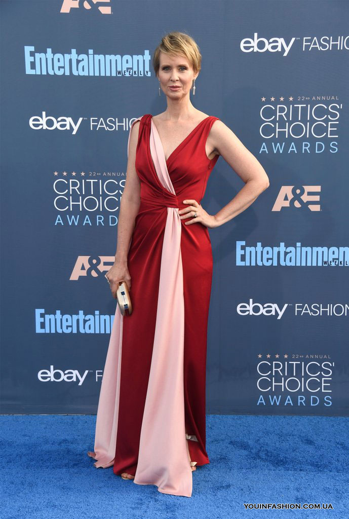 Синтия Никсон на Critics Choice Awards 2017