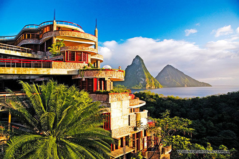 Jade Mountain, Сент-Люсия